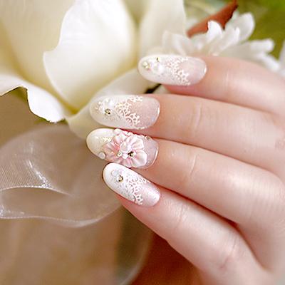 キャンペーン Wedding Nail